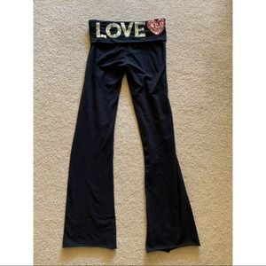 Victoria's Secret Flared Yoga Pants